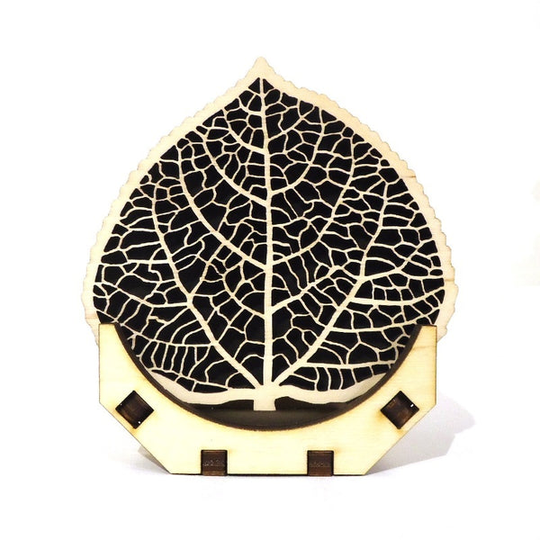 Baltic by Design Coaster Set - Leaf