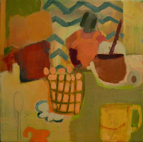 Tilda Mann: Kitchen Painting