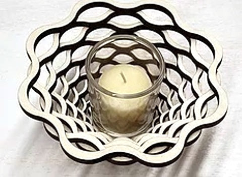 Baltic by Design Votive - Basket