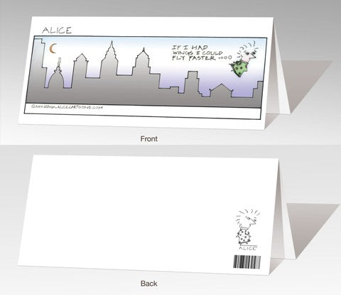 Alice Cartoons Notecard Set