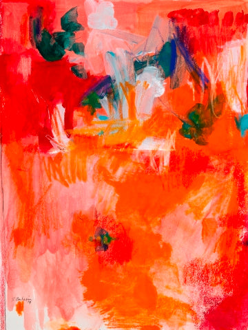 Sandra Benhaim: Deep into Orange