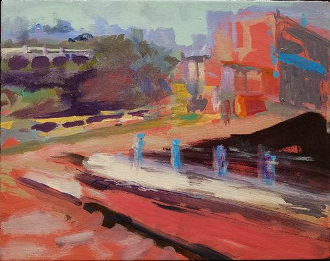 Ronnie Bookbinder: Canal Path