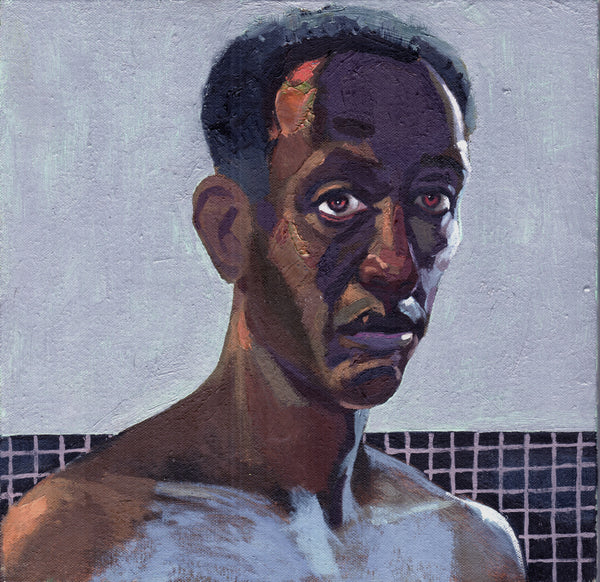 Charles Cooper: Self-Portrait in Evening Light