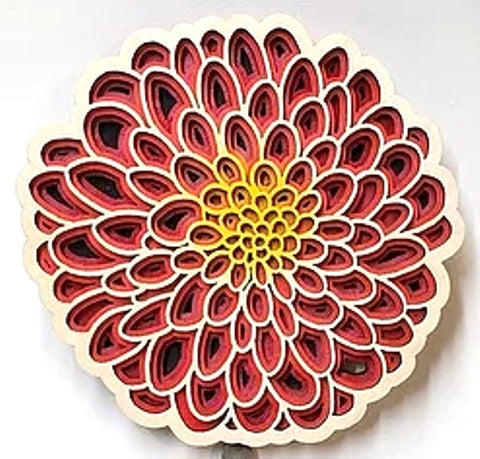 Baltic by Design Trivet - Dahlia
