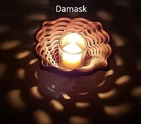 Baltic by Design Votive - Damask
