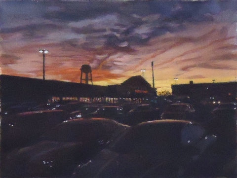 Michael Kowbuz: Parking Lot Sky 1
