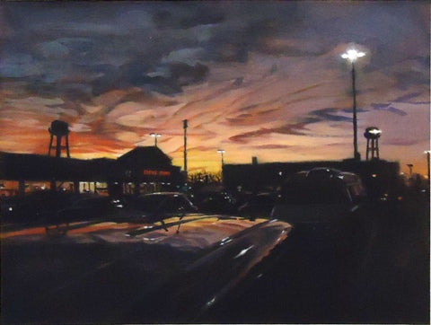 Michael Kowbuz: Parking Lot Sky 2