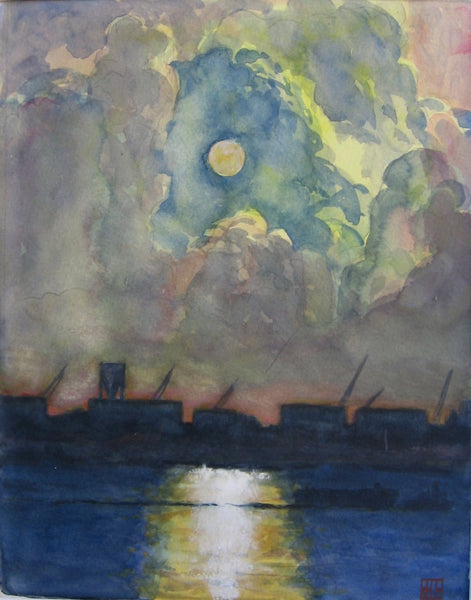 Richard Estell: East River Sunrise