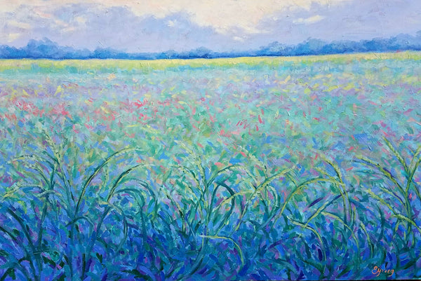 Laura Eyring: Meadow in Quarantine
