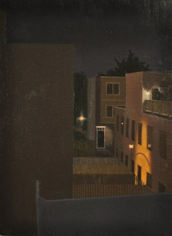 Chris Feiro: Night View from the Studio #2