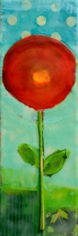 Dora Ficher: Poppies 1