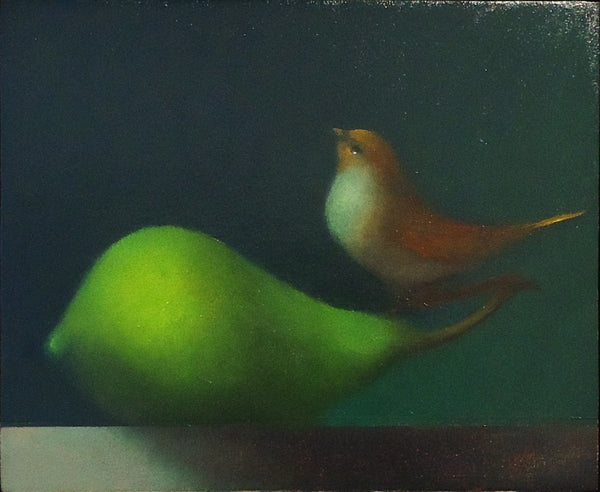 Michael Gallagher: Bird with Pear (2)