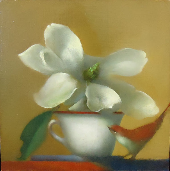 Michael Gallagher: Magnolia with Cup and Bird (1)