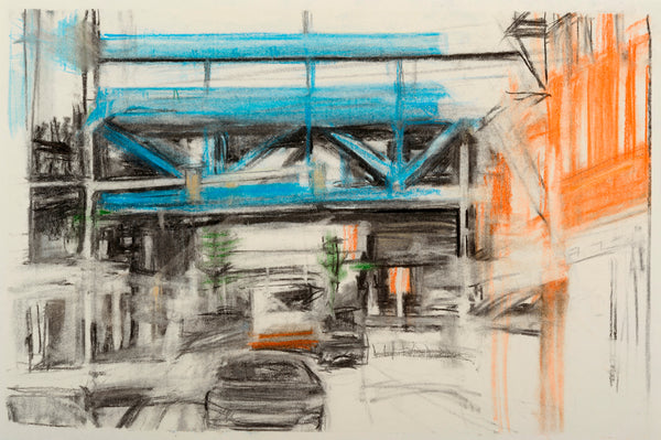Fran Lightman Gibson: Bridge over Old City