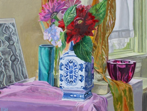 Elizabeth Heller: Still Life with Chinese Vase