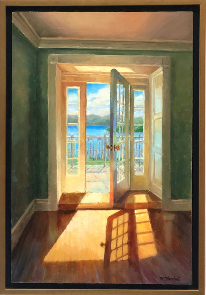 Kimberly Hoechst: Terrace on Lake George