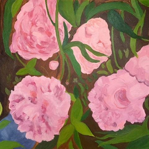 Mary Powers Holt: Peonies