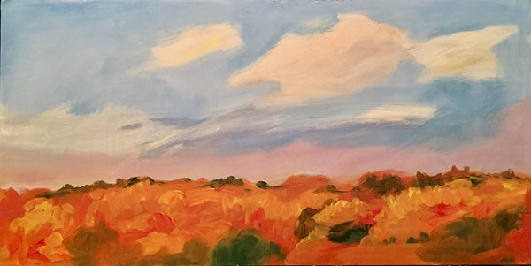 Mary Powers Holt: Autumn Evening Radiance