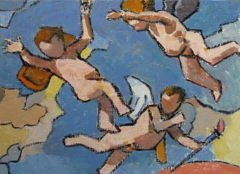 Gary Jenkins: After Poussin No. 4