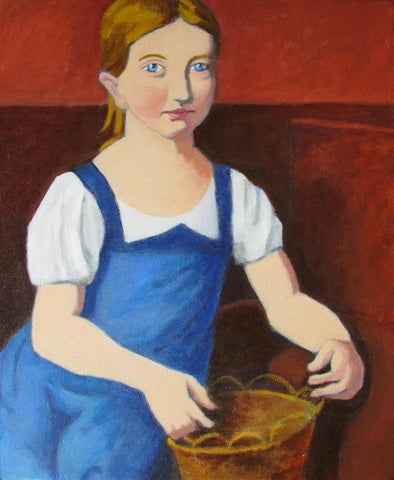 Gary Jenkins: Girl with a Basket