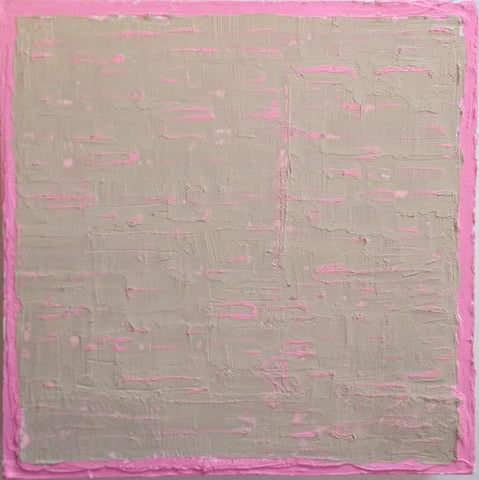 Keith Leitner: Jollity (Pink on Tan)