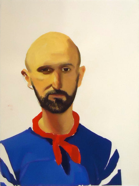 Gilbert Lewis: Bald Man with Neckerchief