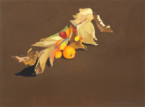 Gilbert Lewis: Untitled (Fall Leaves)