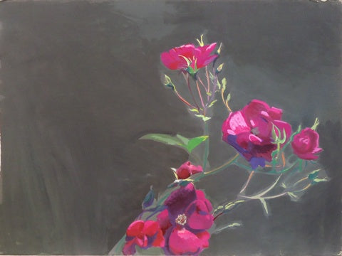 Gilbert Lewis: Untitled (Rose Branch)