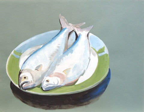 Gilbert Lewis: Untitled (Two Fish)