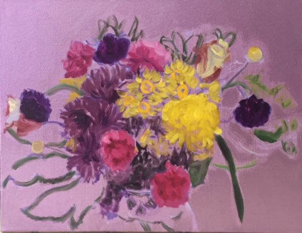 Peggy Merves: Carnations and Asters