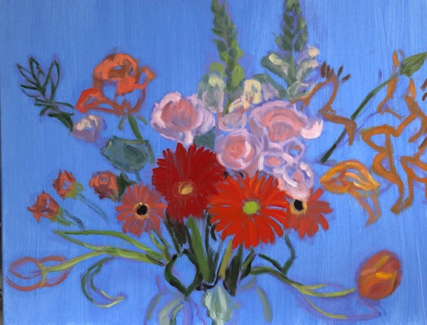 Peggy Merves: Longstem Bouquet I