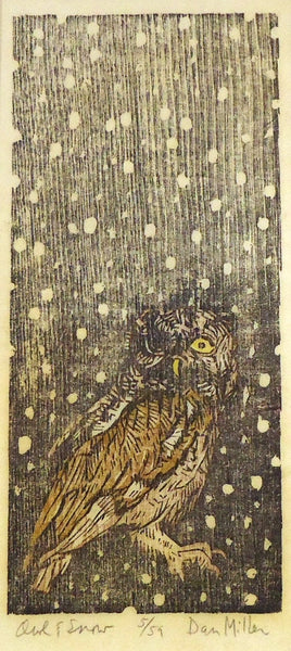 Dan Miller: Owl and Snow