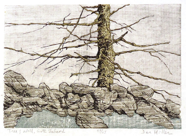 Dan Miller: Tree and Wall, Gott Island