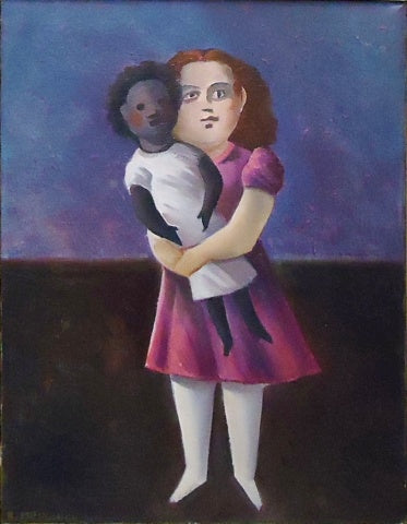 Barbara Mimnaugh: Child with Doll