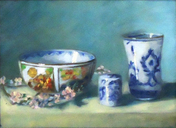 Tony Morinelli: Chinoiserie with Blossoms