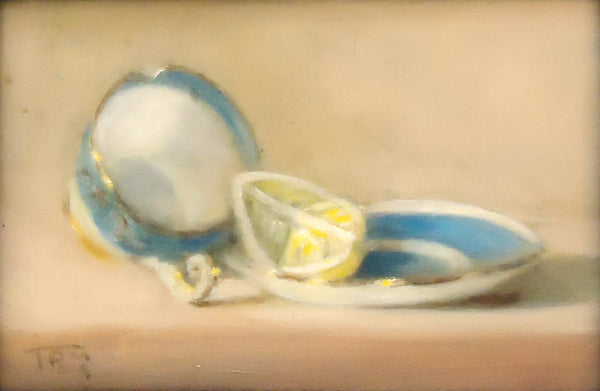 Tony Morinelli: Tea Cup with Lemon