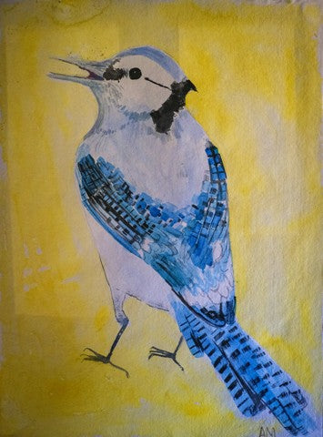 Amanda Moseley: Blue Jay