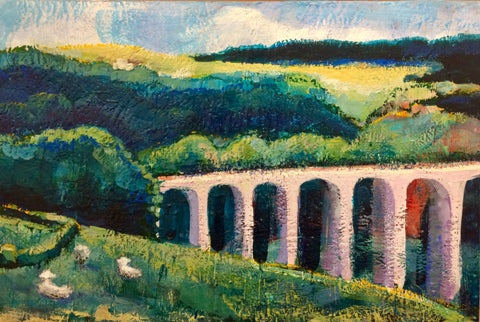 Monique Sarkessian: Provence: Aqueduct