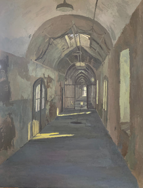 Sean Sauer: Eastern State Penitentiary, Cellblock 10 (Right)