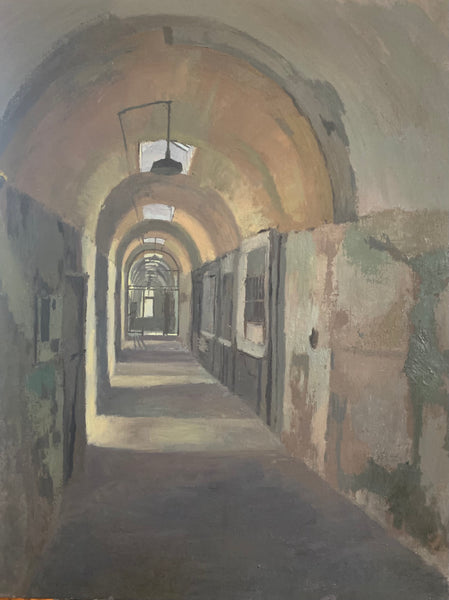 Sean Sauer: Eastern State Penitentiary, Cellblock 11 (Left)