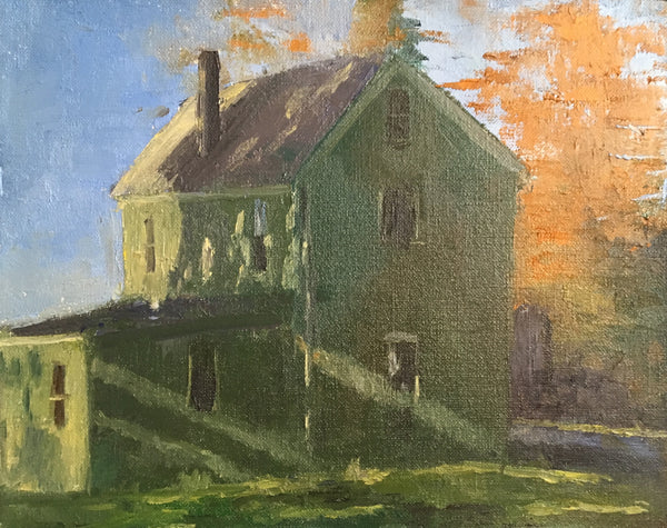 Sean Sauer: Green House on Eagle Road