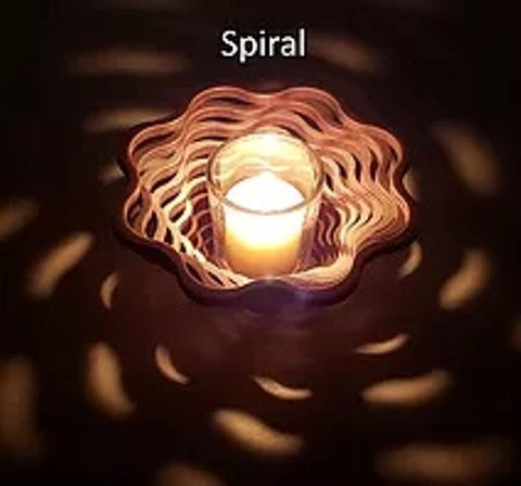 Baltic by Design Votive - Spiral