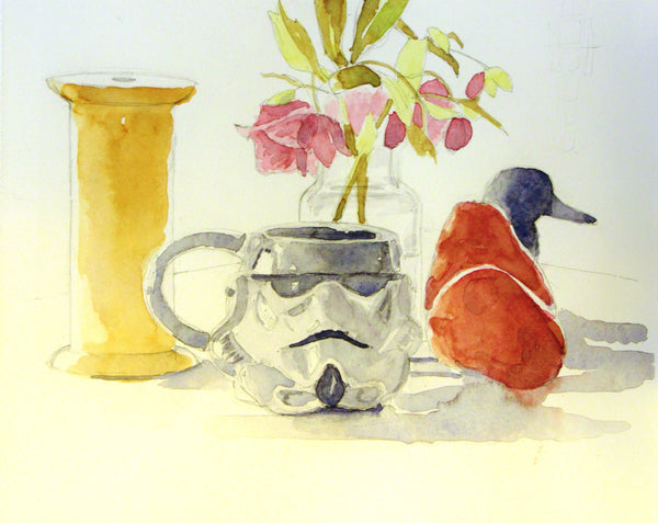 Watercolor Still Life with Keith Leitner