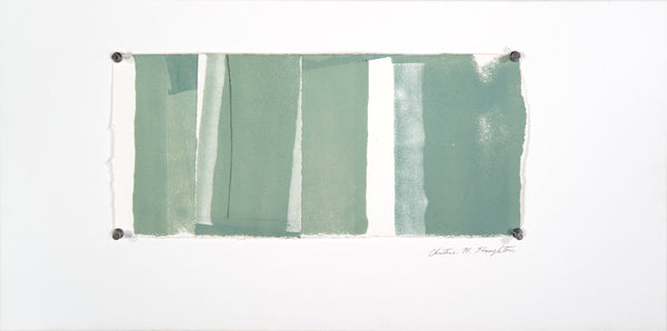 Christine Stoughton: Green and White