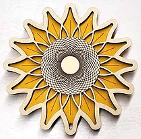 Baltic by Design Trivet - Sunflower