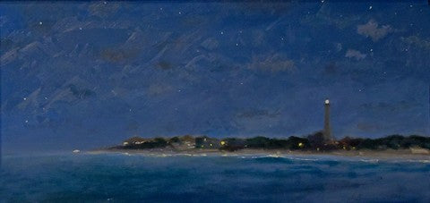 Joseph Sweeney: Cape May Light at Night