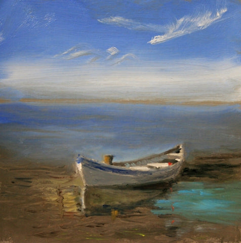 Joseph Sweeney: Whaleboat at Low Tide