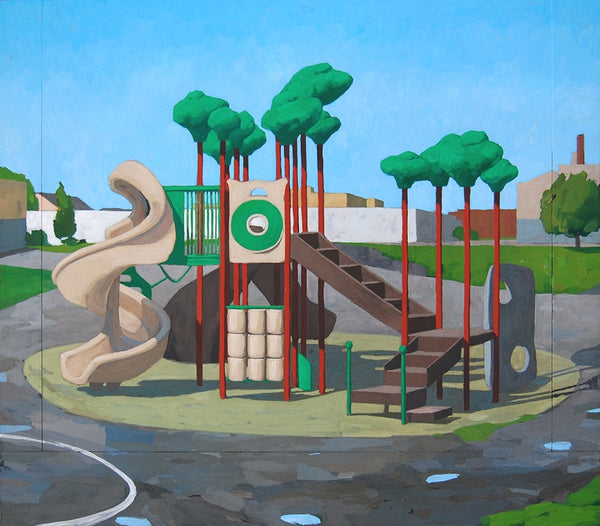 Allison Syvertsen: Playground (Island)
