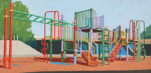 Allison Syvertsen: Playground (Rainbow)
