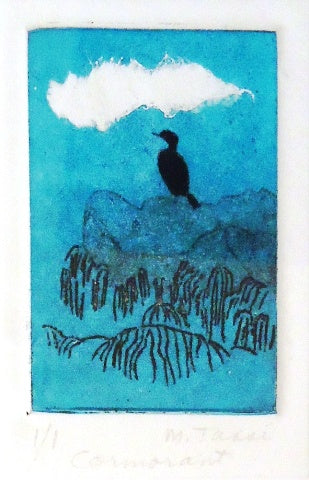 Margo Tassi: Cormorant and Cloud